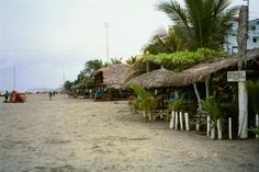 Atacames, Ecuador. Was there in 1998.I remember it pretty much exactly like this.