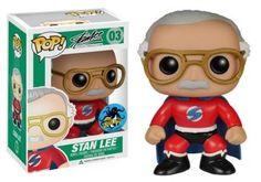 Stan Lee Superhero Pop figure by Funko, Comikaze Expo/Hot Topic exclusive
