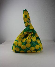 Utensilos & Stoffkörbchen - ** Wendetasche Stricktasche Knotentasche, ** - ein Designerstück von Kaepseles bei DaWanda