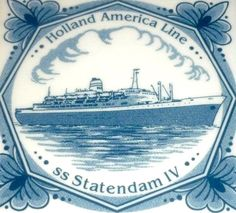 Trasatlántico Statendam IV, Holanda