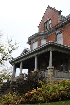 victorian mansion on Buell Avenue, Joliet Illinois.