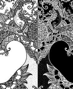 Unity of Halves - Life Tree - Rebirth - White Black iPad Cases & Skins  #zen #Lifetree  #Meditation #Halves #oriental  #Yoga #Indian #Rebirth #BlackWhite #Paisleydrawing #redbubble #magictree #artprint #zentangle #GrandTartaria #iPadCase  https://www.redbubble.com/people/grandtartaria/works/30309906-unity-of-halves-life-tree-rebirth-white-black?asc=u&p=ipad-case