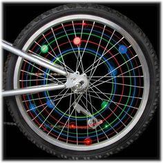 6-Pack of 2 Nite Ize See/'Em LED Mini Spoke Lights Blue Safety Bike Indicators