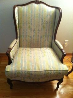 Queen Anne Wing Chair - $375
