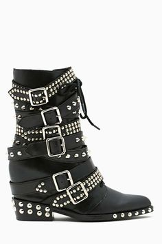 Draco Strapped Stud Boot  --- OH MY GOD!! If I could have one thing in the world lol...