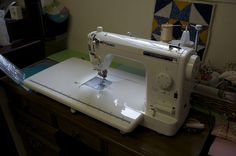 Review of the TL-2000QL Juki sewing machine. Juki, Free Motion Quilting, Sewing Machines, Quilting Ideas, Room Ideas, Quilts, Awesome, Shop, How To Make