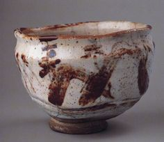 志野茶碗 銘「蓬莱山」個人蔵 松永耳庵旧蔵 桃山時代