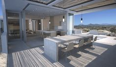 Beautiful interior/exterior living in desert setting | Campos Leckie Studio | Baja, Mexico