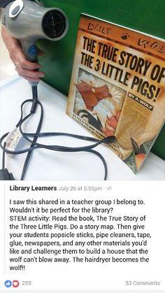 Great literacy stem activity