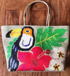 Bask in the beauty of our nature designs for bags. Eco Friendly Bags, Fair Trade, Handicraft, Philippines, Straw Bag, Reusable Tote Bags, Nature, Handmade, How To Wear
