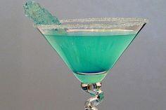 Tiffany Blue Cocktail  www.riley-jane.com