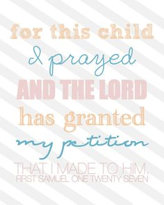 This is perfect - My son is my miracle from the Lord