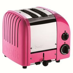 In love with this toaster ....but not in pink!