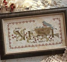 Country Stitches/With Thy Needle & Thread ~ Where Hearts Rest