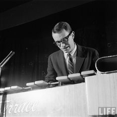 A very young Cal Tjader.