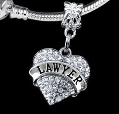 #Lawyer charm fits european style bracelet #great gift for #attorneys and lawyers, View more on the LINK: http://www.zeppy.io/product/gb/2/182065799209/