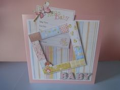 New Baby Card - Girl £4.00