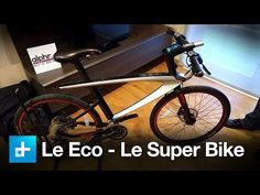 """▶Super Bicycles: ••Le Syvrac by LeEco (China's young startup) •a bike that mixes Mountain bike & SmartPhone • 4"""" screen built-in runs on 4GB RAM Android • features: laser pointers (safety distance) / cam / speaker / heart rate sensor / tracking data  alarm system / auto lock •  $800-$6000+ ( all-carbon frame option) • on sale in China 2016-04, in USA by end 2016 • the Verge report 2016-04-25"""