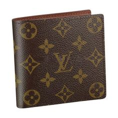 Louis Vuitton Monogram Canvas Wallet With Coin Pocket M61675 Ags