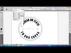 How to curve type around a badge using Adobe Illustrator CS3 - ArtworkExplained.com.au - YouTube