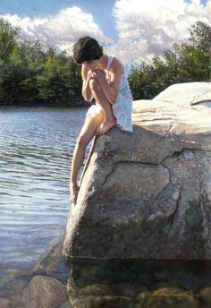 Steve Hanks - I Thought I Saw An Angel by