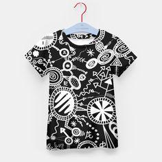 Crazy Doodle Kid's T-shirt, Live Heroes Doodles, Live, Stylish, T Shirt, Women, Fashion, Supreme T Shirt, Moda, Tee Shirt