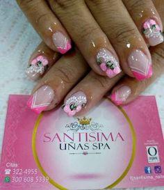 Nails sencillas frances pies 30 Ideas - Diet - Fashion - Woman's And Finger Nail Art, Modern Nails, New Nail Designs, Super Nails, Fabulous Nails, Stylish Nails, Cool Nail Art, Manicure And Pedicure, Spring Nails