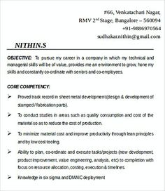 It Business Development Manager Resume Template  It