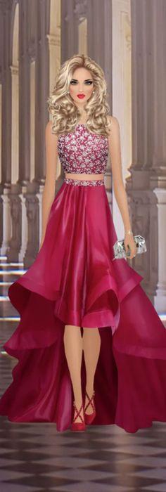 Covet Fashion, Fashion Design, Doll Painting, Cool Sketches, Fashion Games, Designer Dresses, Printables, Clothes, Creativity