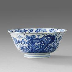 A Blue and White Bowl, Kangxi period (1662-1722)