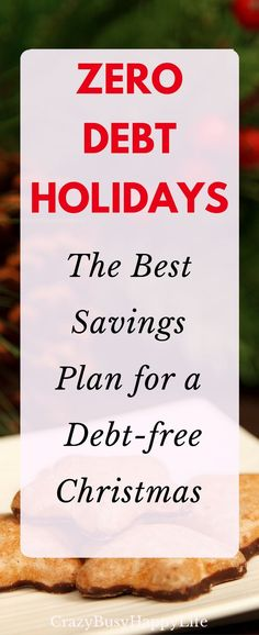 Here's a great money saving plan for having a debt-free Christmas. Don't let the holidays sneak up on you. Click through to read more or pin now and read later.