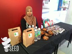 This sweet girl will help handle registration process!  #seed2016  #seed2016_  #showcase  #degreeshow  #industrialdesign #upm #malaysia by seeds2016_