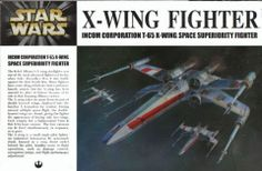 Free Time Hobbies - 1/72 Fine Molds Star Wars: X-Wing Fighter Incom Corp. T65 X-Wing Space Superioity (2 Pilots), $49.95 (http://www.freetimehobbies.com/FNMSW01/)