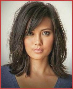 Hair in layers with medium hair image showing for layered haircuts long hair illustration Source by Haircuts For Long Hair, Long Hair Cuts, Straight Hairstyles, Asymmetrical Hairstyles, Thick Hair Hairstyles Medium, Haircut Long, Medium Length Layered Hairstyles, Summer Haircuts, Long To Medium Haircuts