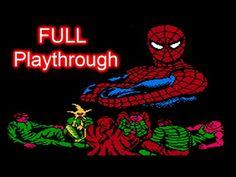 Spider-Man (NES) Full Playthrough (No Death)