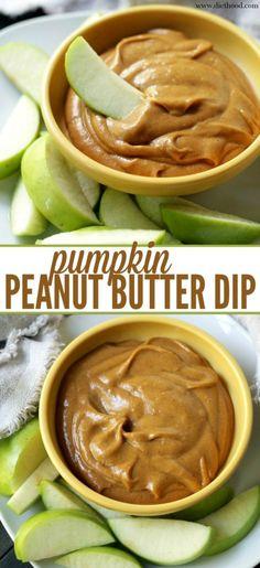 Pumpkin Peanut Butter Dip | anightowlblog.com