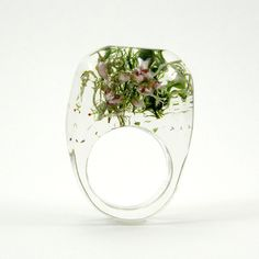 Monoco   イベント   リング/Moss and Heather Ring