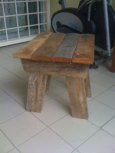 diy wood foot stool - Google Search