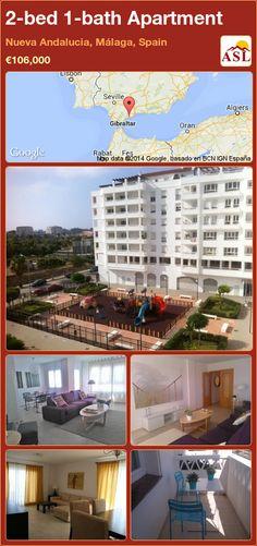 2-bed 1-bath Apartment in Nueva Andalucia, Málaga, Spain ►€106,000 #PropertyForSaleInSpain
