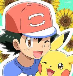 Ash and Pikachu ^^❤ Pokemon Mewtwo, Pokemon Memes, Pokemon Fan, Ash Ketchum, Cute Pikachu, Cute Pokemon, Pokemon Store, Pokemon Ash And Misty, Samurai Flamenco