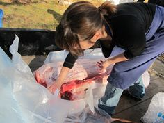 How to Butcher a Pig in Your Front Yard Meat Butcher, Amy, Pork, Animal, Kale Stir Fry, Animals, Pork Chops, Animaux, Animales