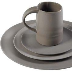 Large  china  lucca grey