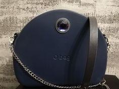 Obag moon light navy blue 0 Bag, Light Navy Blue, Riding Helmets, Clock, Moon, How To Wear, Fashion, Handbags, Shoe