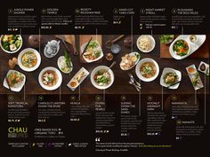 chau menu - Google Search                                                                                                                                                                                 More