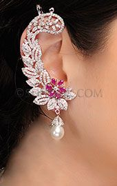 Indian Earrings, Bridal Jewelry, Wedding Jewelry, traditional Indian Jewelry