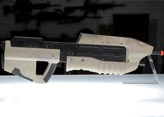 Custom Chrono Blaster 88 Sneak Peek or as it's known to halo fans like me the MA5B assault rifle