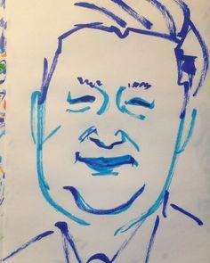 1mindrawさんはInstagramを利用しています:「#1mindraw #XiJinping #習近平 #习近平 #19530615 #birthday #誕生日 #portrait #筆ペン画」
