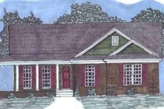 House Plan 69-141 Ranch Style**