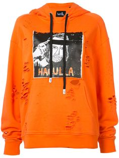 b89bba34ddbccb HACULLA Distressed Logo Print Hoodie.  haculla  cloth  hoodie