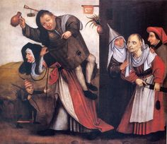Hij soeckt de Byle - After Jheronimus Bosch